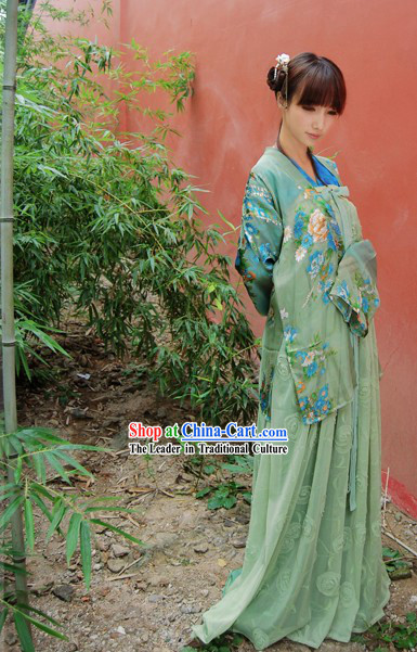 Ancient Chinese Women Poet Costume