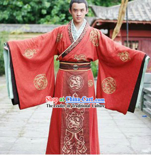 Chinese Classic Bridegroom Wedding Dress
