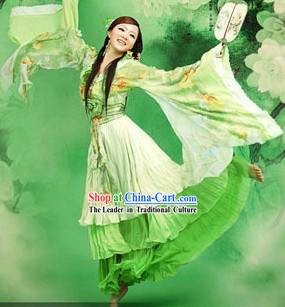 Chinese Classical Spring Female Hanfu Clothing