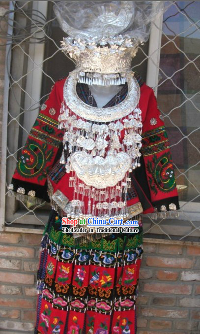 Traditional Miao Ethnic Clothing