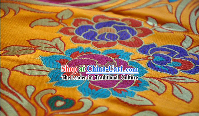 Traditional Tibetan Brocade Fabric