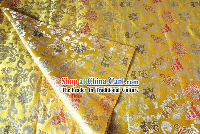 Traditional Chinese Brocade Fabric
