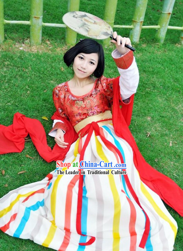 Tang Dynasty Imperial Maid Costume