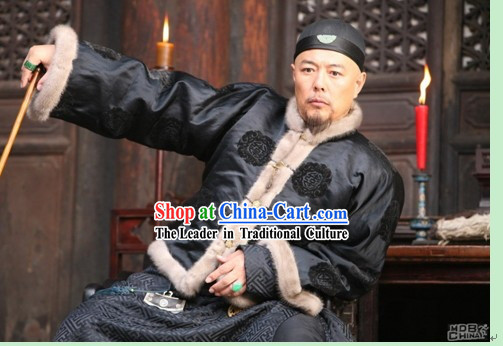Minguo Period Landlord Costume for Men