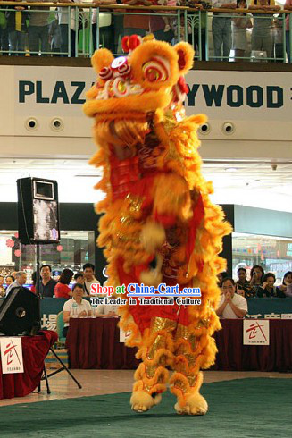 Business Lucky Opening Ceremony Lion Dance Costume Complete Set
