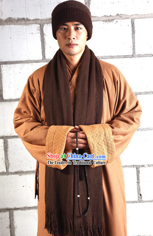 Traditional Chinese Meditation Winter Warm Clothing for Men