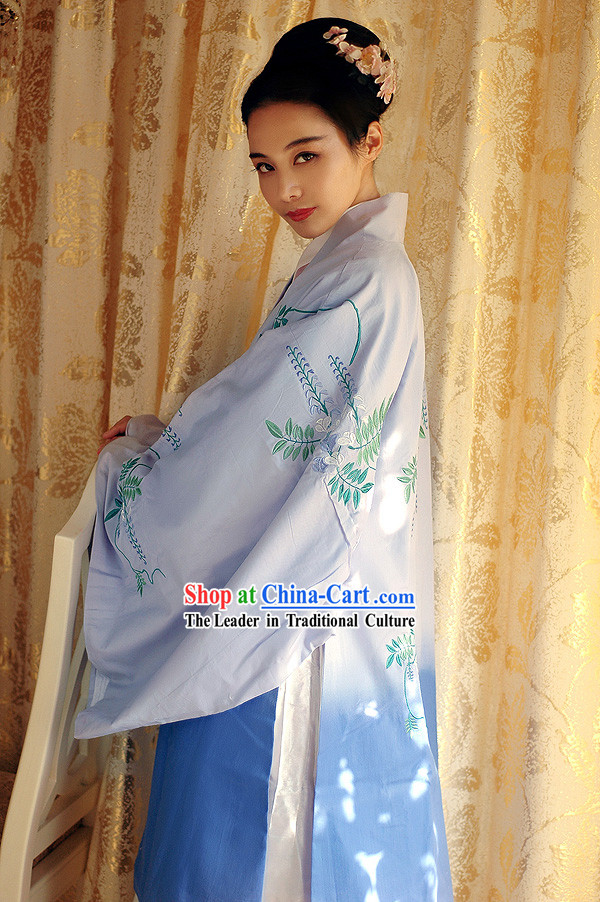 Ancient Chinese Beauty Hanfu Garment for Women