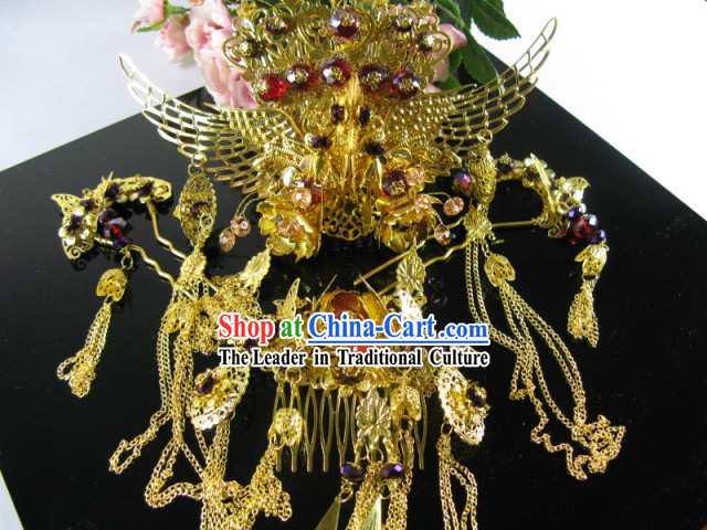Asian Wedding Hair Accessories