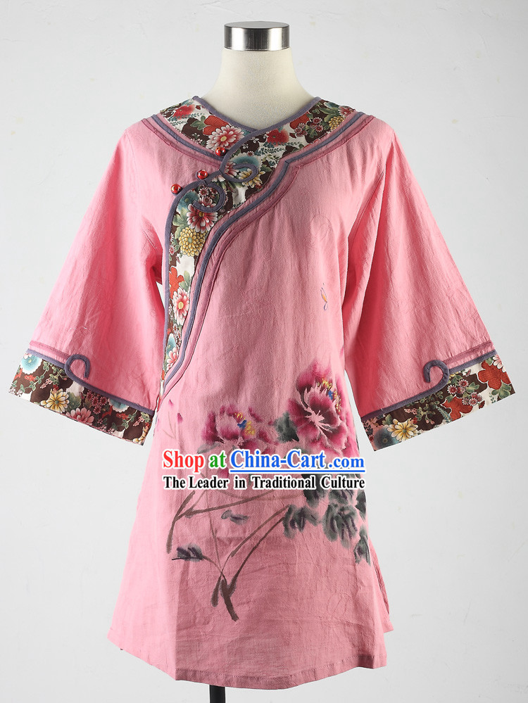 Traditional Chinese Female Tang Dress