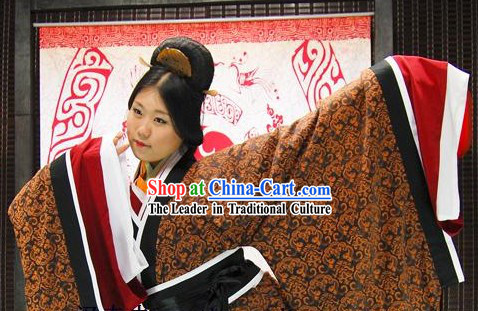 Han Chinese Palace Dance Clothing Quju Garment for Women