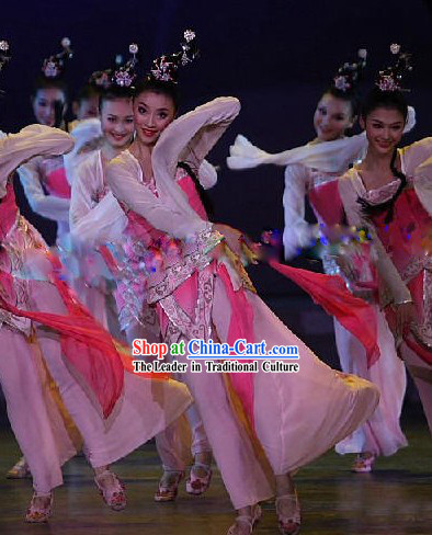 Chinese Ancient Mandarin Tao Yao Costumes for Lady in Pink