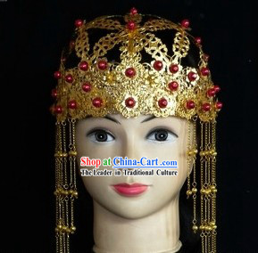 Ancient Chinese Women Wedding Phoenix Headpiece