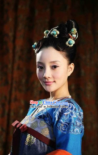 Ancient Chinese Tang Dynasty Hair Accessories
