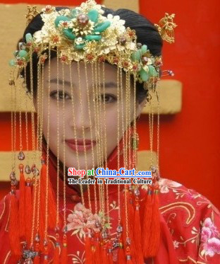 Ancient Chinese Brides Wedding Phoenix Coronet
