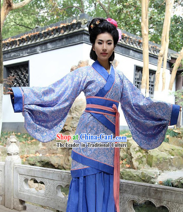 Ancient Chinese Women Han Fu_Hanfu Clothing