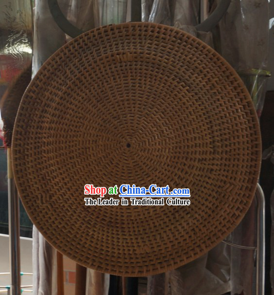 Traditional Chinese Handmade Bamboo Shield