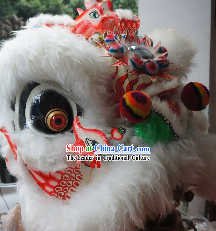 Supreme Chinese Handmade Phoenix Lion Dancing Costume Complete Set