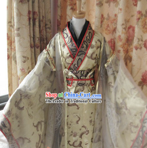 Traditional Chinese Prince Dragon Clothing