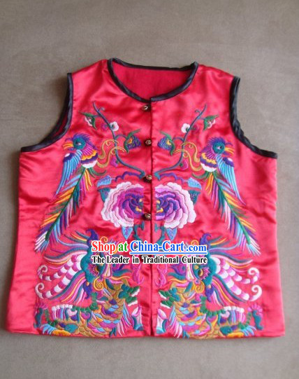 Chinese Hand Made Miao Dance Vest