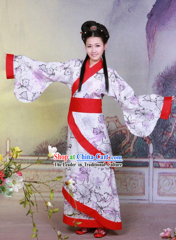 Ancient Chinese Hanfu Qu Ju for Women