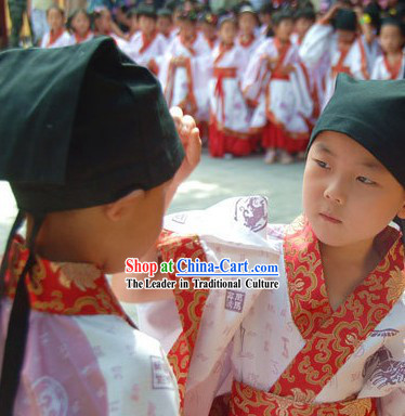 Chinese Qu Ju Hanfu for Children