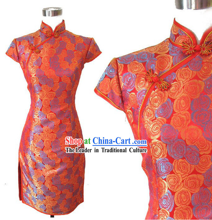 Chinese Wedding Bridesmaid Qipao
