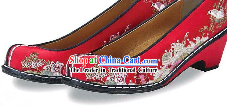 Traditional Korean Embroidery Shoes for Women