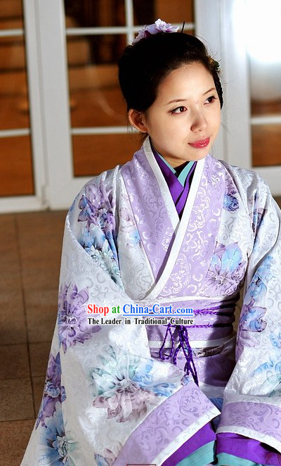 Supreme Chinese Ancient Princess Clothing Complete Set for Women