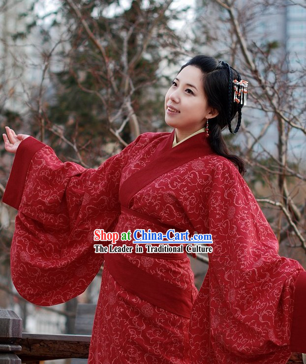 Chinese Classical Quju Garments for Women