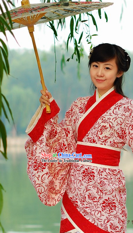 Ancient Chinese Empress Wedding Dress Complete Set