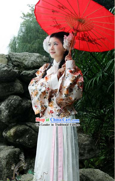 Traditional Chinese Hanfu Dress Complete Set for Women
