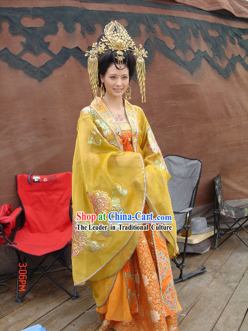 Ancient Chinese Empress Phoenix Headwear Set