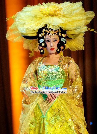 Tang Dynasty Palace Dance Costumes Set
