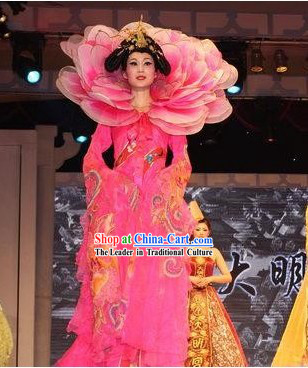 Ancient Chinese Stage Performance Costumes Set