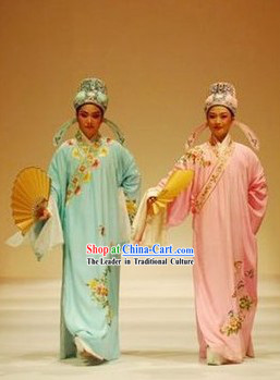 Ancient Chinese Young Men Costume Complete Set