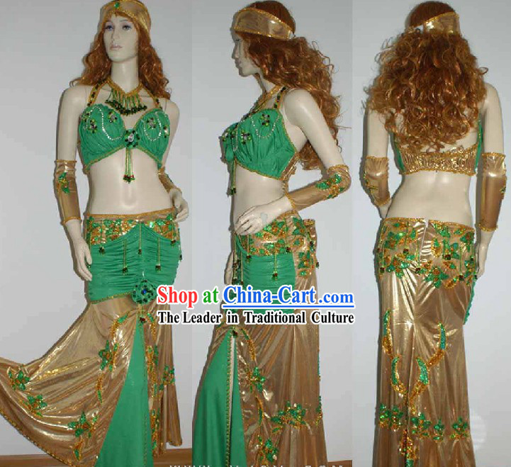 Top Custom Belly Dance Costumes Complete Set