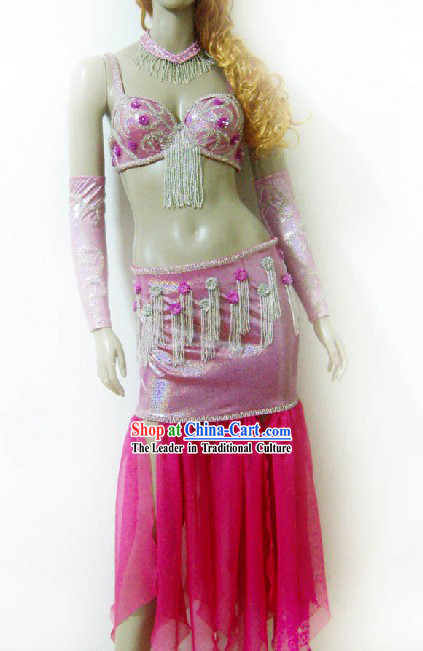Top Pink Belly Dance Costumes for Women