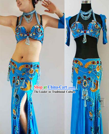 Top Belly Dance Costume Complete Set for Women