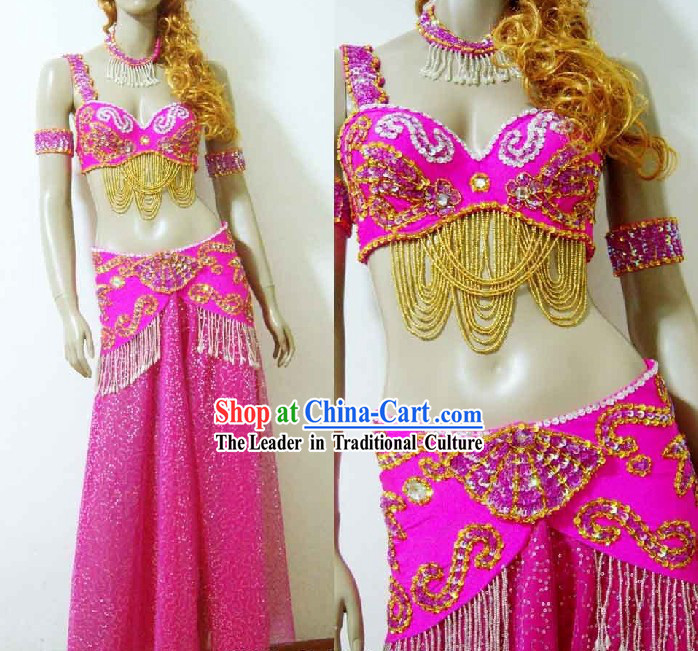 Princess Belly Dance Costumes Complete Set