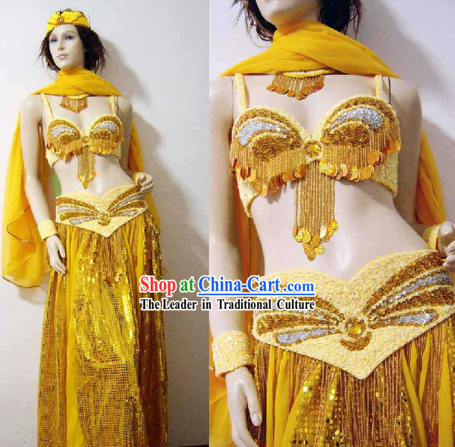 Ancient Belly Dance Costume Complete Set for Women