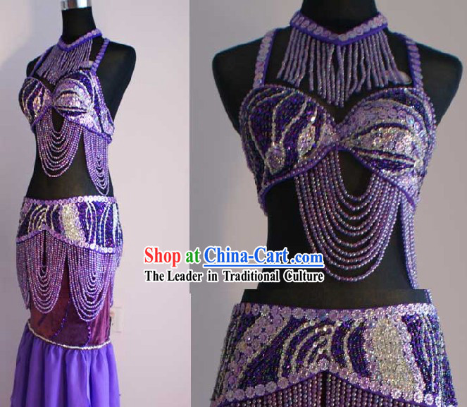 Top Belly Dance Skirt Complete Set for Women