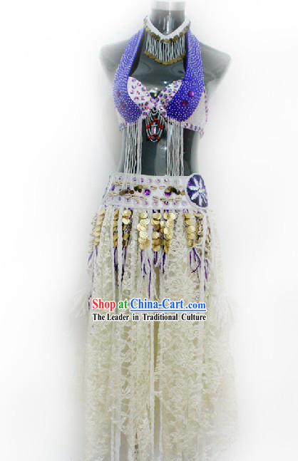 Original Tribe Belly Dance Costumes Complete Set for Women