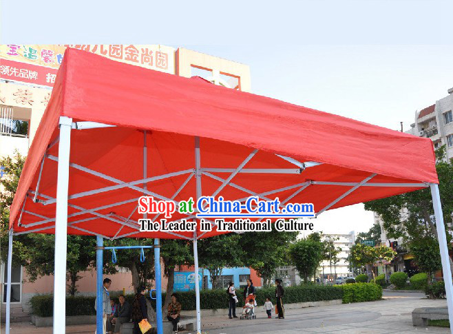 Large Red Tent