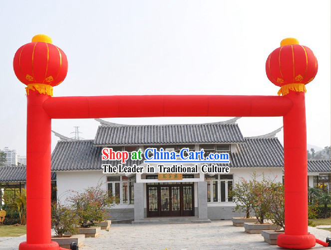 Chinese Lantern Gate Inflatable Arches