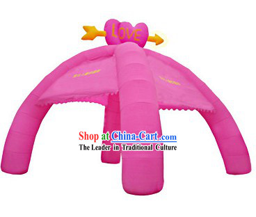 Chinese Romantic Inflatable Wedding Arch