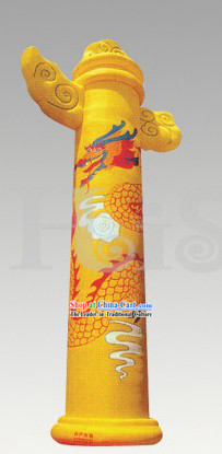Traditional Large Chinese Inflatable Ornamental Column