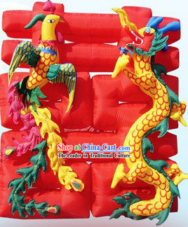 Chinese Wedding Ceremony Inflatable-Dragon and Phoenix