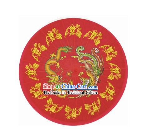 Traditional Chinese Hand Made Wedding Umbrella