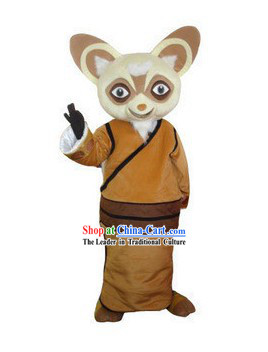 Chinese Kung Fu Tai Chi Mouse Adult Mascot Costumes Complete Set