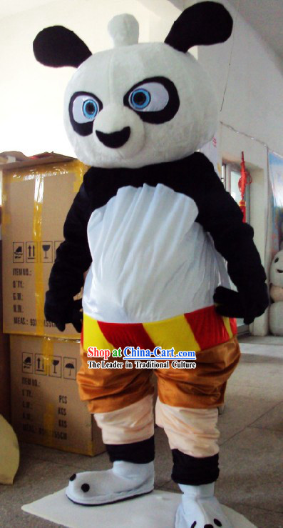 Chinese Kung Fu Panada Mascot Costumes Complete Set